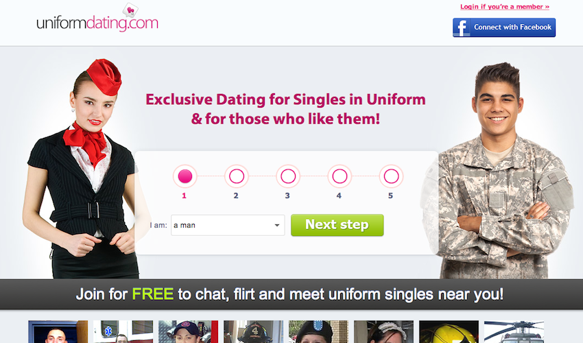 Dating sites uniform