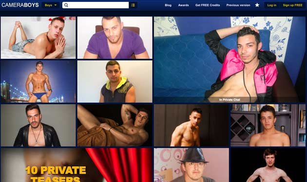 Top gay sex cams with live shows